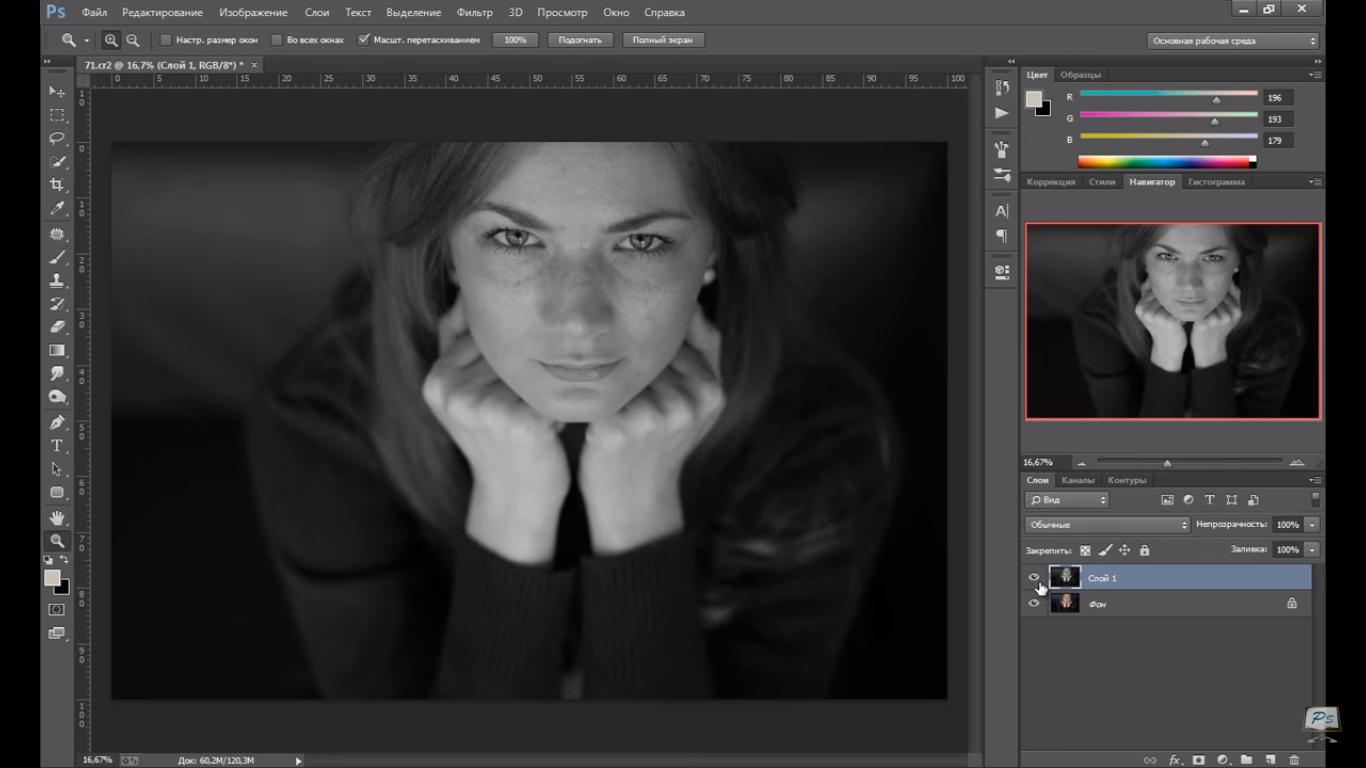 Как сделать изображение черно белым фото 820
